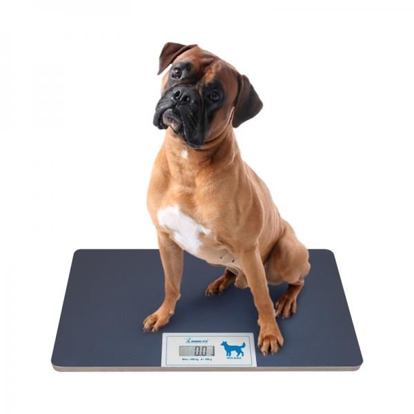 Весы ветеринарные напольные платформенные wikiVET 35,5 x 63,5 см до 100 кг с дисплеем