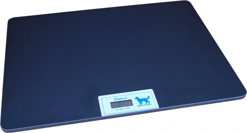 Весы ветеринарные напольные платформенные wikiVET 62 х 83 см до 100 кг с дисплеем